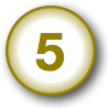 number-button-gold-5