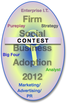 Contest Advisory & Services Firm Social Business Adoption 2012