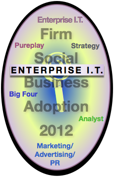 Enterprise I.T. Report: Advisory & Services Firm Social Business Adoption 2012