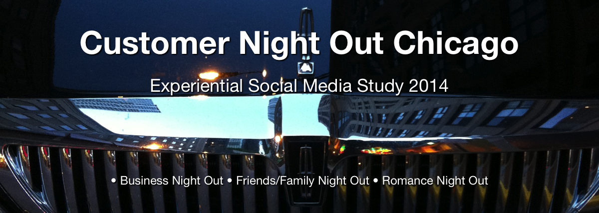 Customer Night Out Chicago: Experiential Social Media Study 2014