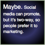 Social media and social business: brand and relationship