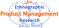 Ethnographic Research for Product Management with social media overview