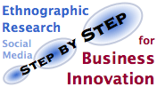 Ethnographic Research for Business Innovation Using Social Media: step by step