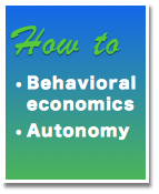 How-to Behavioral Economics Autonomy and Ethics user experience design