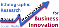 Ethnographic Research for Business Innovation: goals & rationale